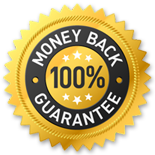 100% Risk Free Money Back Guarantee